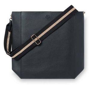 Crabtree & Evelyn Black Vegan Leather Tote bag